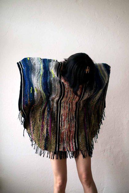 aiüo design poncho natsuko mizushima van der ree