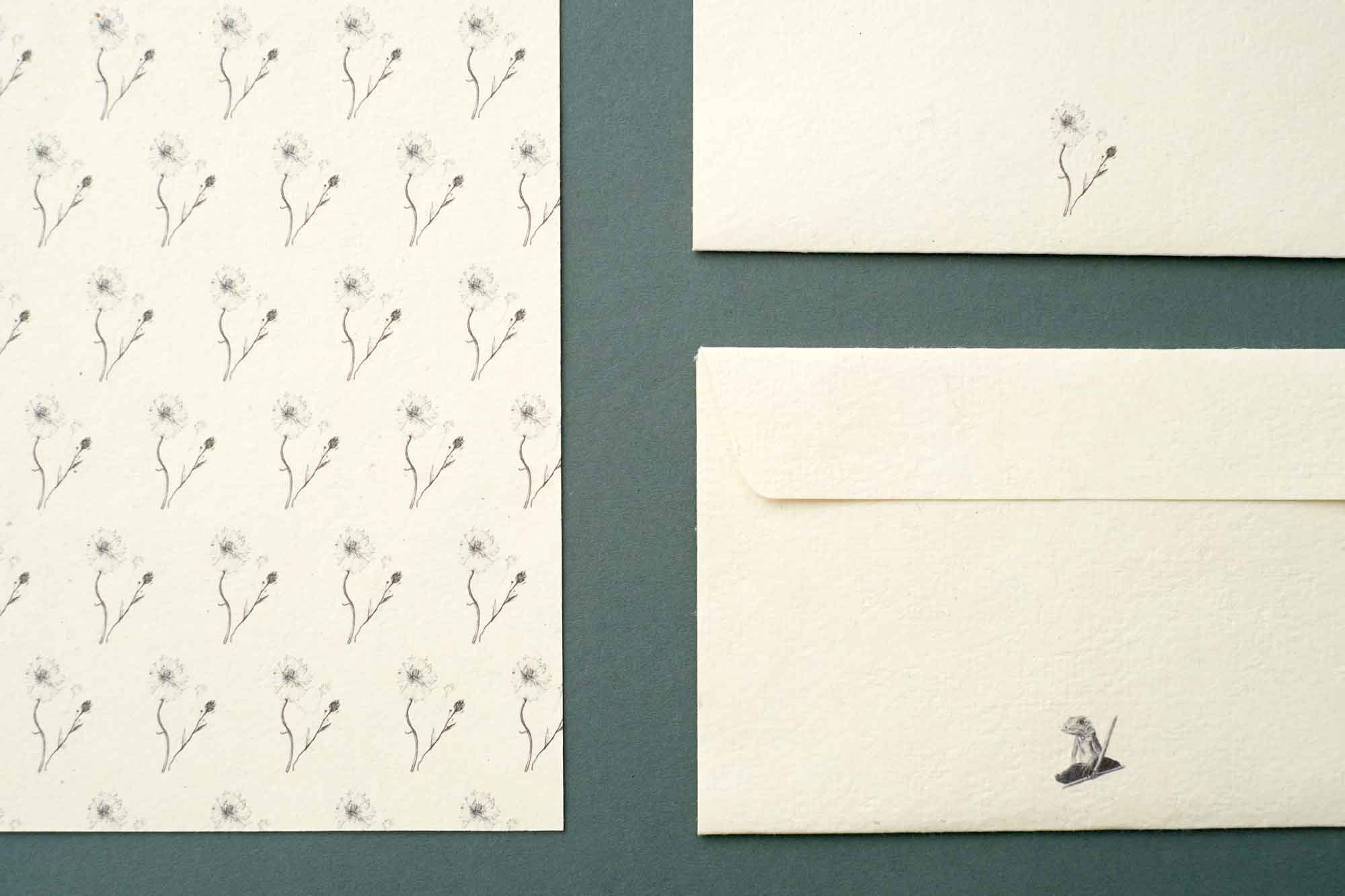 aiüo design letter and envelope natsuko mizushima van der ree