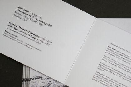 Hiroe Saeki Invitation